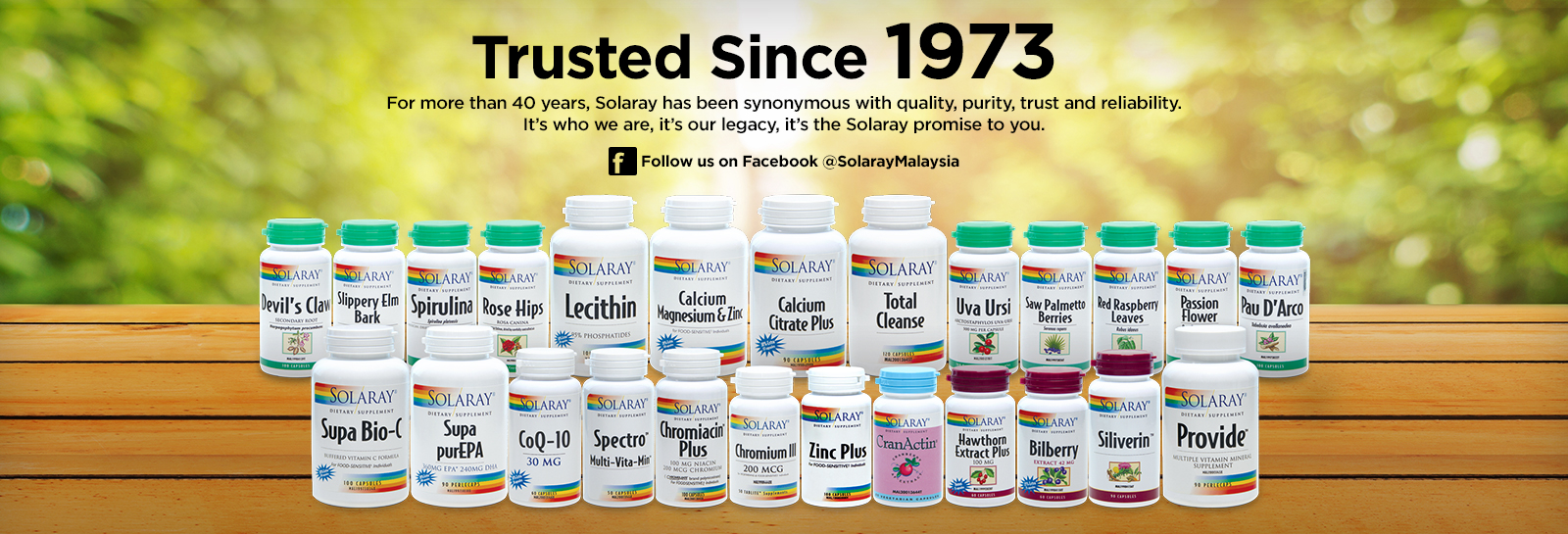 Trusted Since 1973