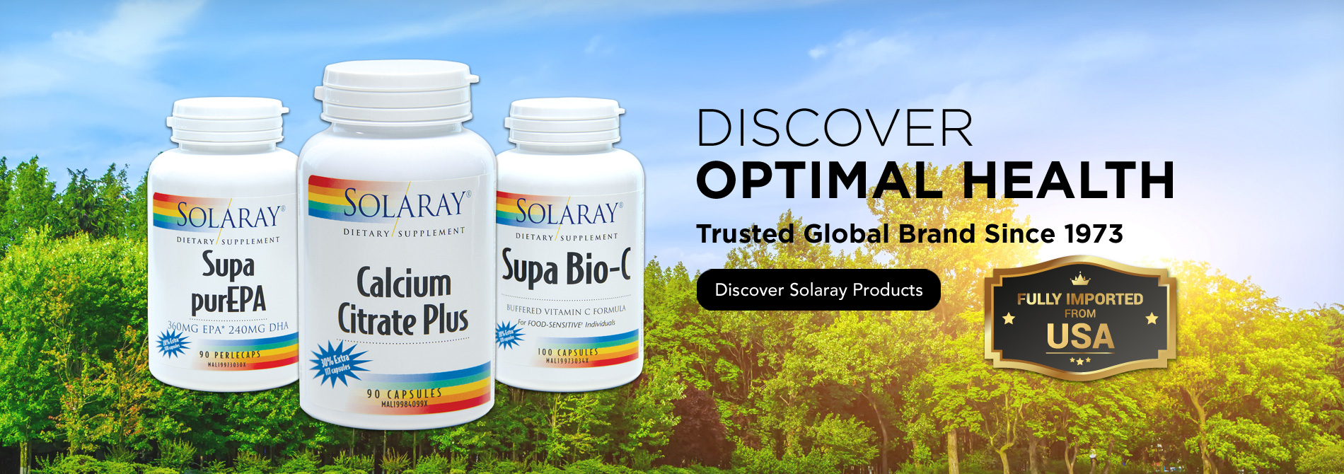 Discover Solaray Products